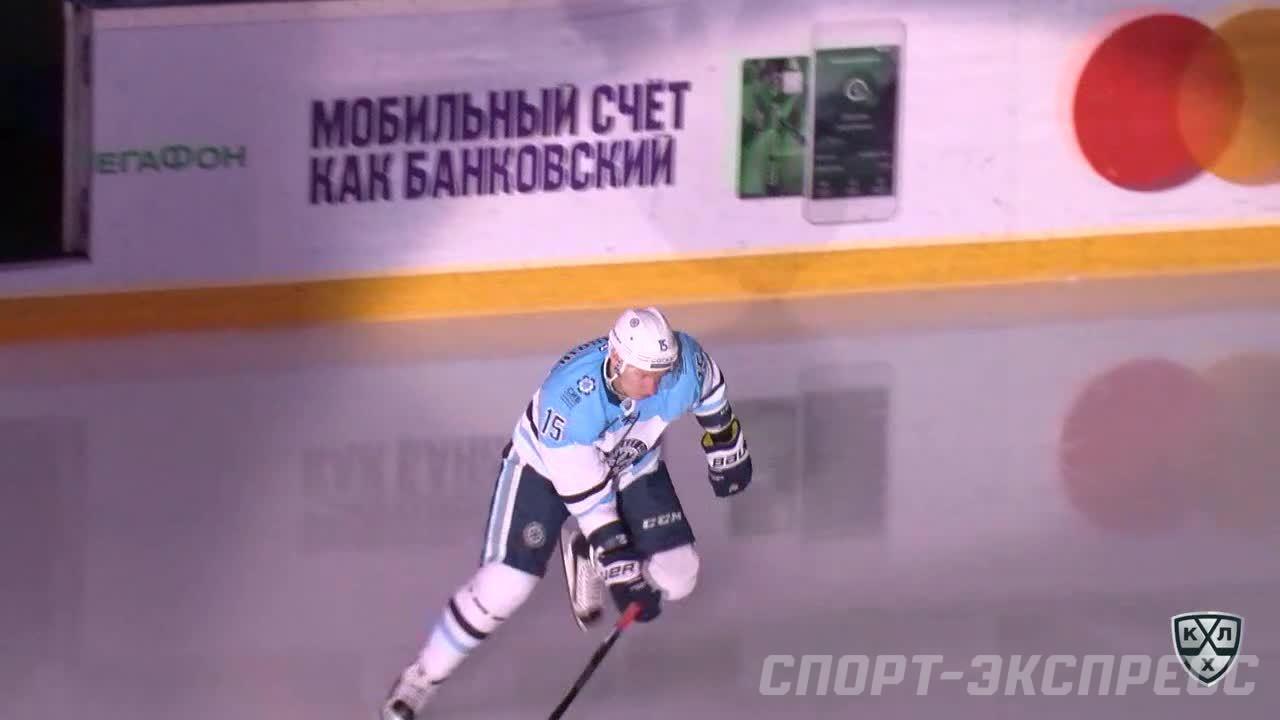 Удаление. Мишарин Георгий (Сибирь) за задержку клюшкой.