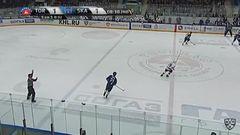 Удаление. Егор Яковлев (СКА) удалён на 2 минуты за задержку шайбы руками