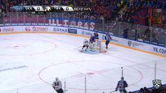 Гол. 1:0. Шипачёв Вадим (СКА) открывает счет матча в большинстве