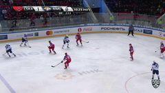 Удаление. Петров Кирилл (ЦСКА) за подножку наказан малым штрафом