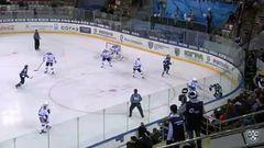 Гол. 1:1. Андрей Анкудинов (Югра) восстановил равенство в счёте