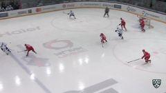 Гол. 1:0. Евгений Чесалин (Автомобилист) открыл счёт в матче