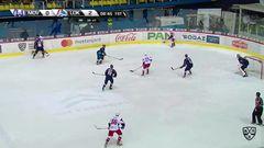 Гол. 0:3. Осипов Денис (Локомотив) забрасывает шайбу в большинстве