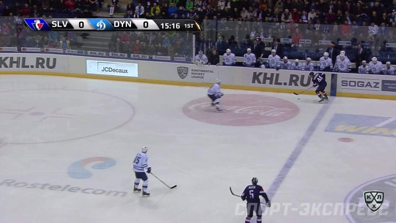 Слован - Динамо Мск. Лучшие моменты первого периода