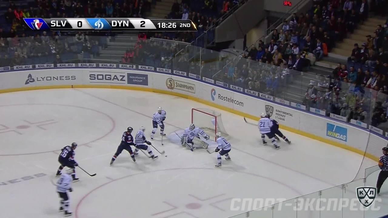 Слован - Динамо Мск. Лучшие моменты второго периода