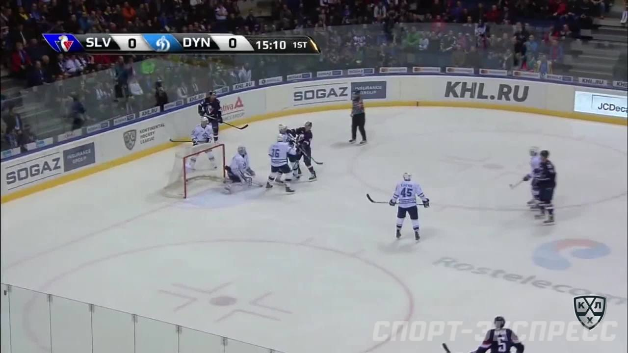 Слован - Динамо Мск 1:2