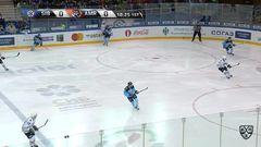 Гол. 1:0. Окулов Константин (Сибирь) открывает счет матча