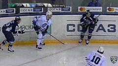 Удаление. Кирилл Беляев (Югра) удалён на 2 минуты за задержку руками
