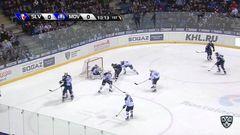 Слован - Медвешчак. Лучшие моменты первого периода матча