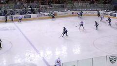 Удаление. Купцов Сергей (Югра) удален на 2+10 минут за атаку в область головы и шеи