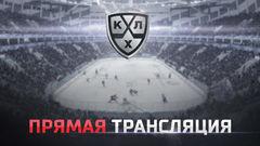 Гол. 3:2. Кадейкин Александр (Локомотив) забрасывает шайбу в ворота соперника