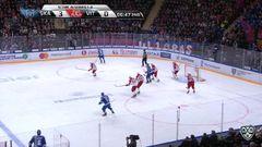 Гол. 4:0. Павел Дацюк (СКА) в касание замкнул передачу