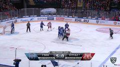 Удаления. Александр Хохлачёв (СКА) и Алексей Копейкин (Витязь) получили по 2 минуты