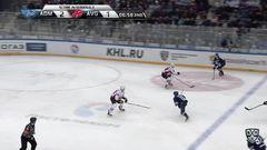 Удаление. Казаков Максим (Адмирал) за атаку игрока не владеющего шайбой.