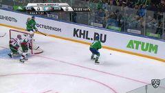 Гол. 1:0. Капризов Кирилл (Салават Юлаев) расстрелял с пятака