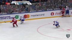 Гол. 0:2. Вадим Шипачёв (СКА) здорово приложился по шайбе
