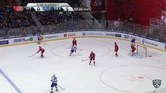 Гол. 0:1. Евгений Дадонов (СКА) забросил за секунду до ухода на перерыв