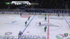 Гол. 0:1. Ткачёв Владимир (Ак Барс) открывает счет матча в большинстве