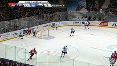Гол. 1:1. Стаффан Кронвалль (Локомотив) восстановил равенство в счёте