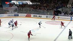 Удаление. Максим Тальбо (Локомотив) получил 2 минуты за удар клюшкой