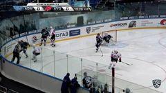 Гол. 0:1. Илья Михеев (Авангард) открыл счёт в матче