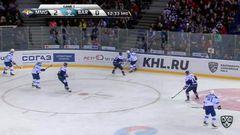 Гол. 3:0. Коварж Ян (Металлург Мг) забрасывает шайбу в ворота соперника
