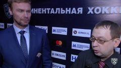 Интересный момент. Интервью дает Козлов Виктор, тренер команды Металлург Мг
