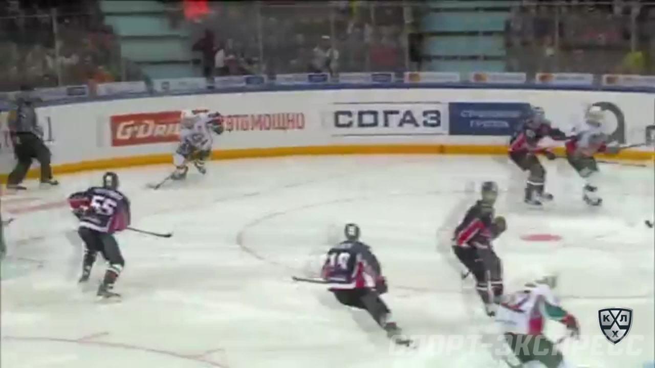 Кубок Гагарина 2017, Авангард - Ак Барс 0:2 (Серия 0:2)