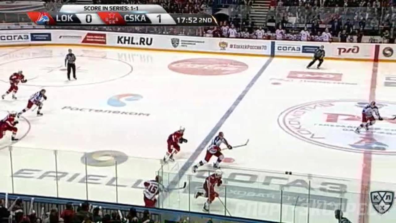 Гол. 1:1. Дмитрий Лугин (Локомотив) сравнял счёт в матче
