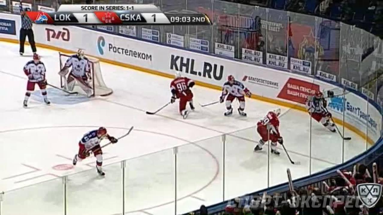 Удаление. Григорий Панин (ЦСКА) наказан малым штрафом за подножку
