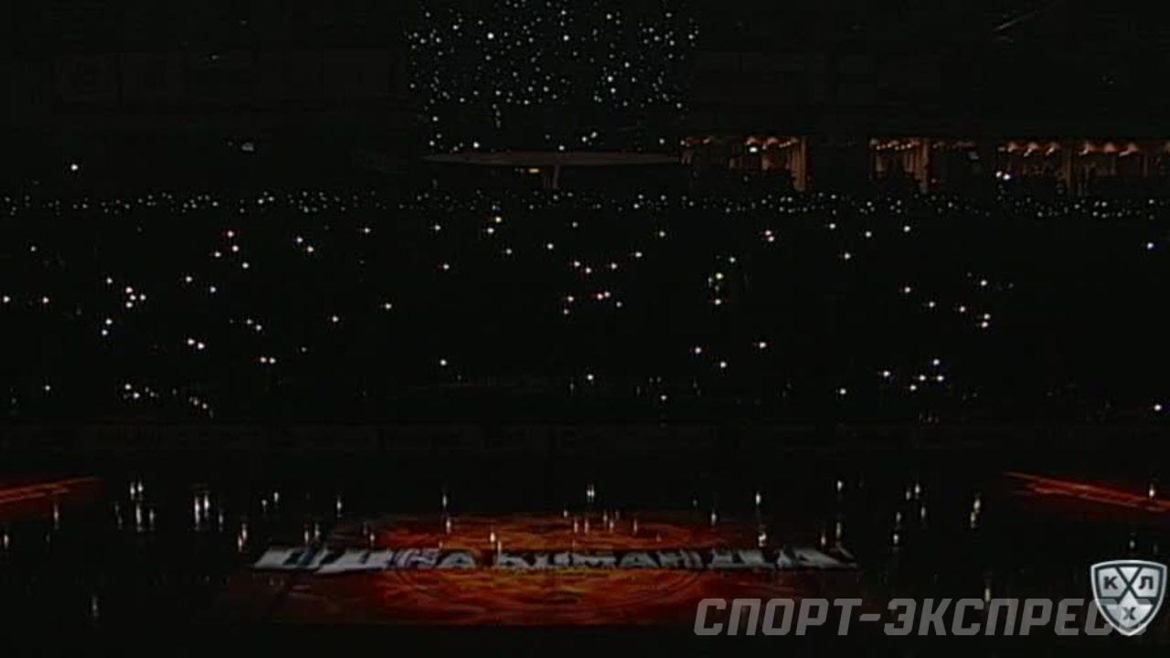 Удаление. Владислав Гавриков (Локомотив) удалён на 2 минуты за опасную игру высоко поднятой клюшкой