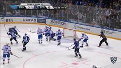 Кубок Гагарина 2017, Динамо - СКА 2:4 (Серия 1-2)