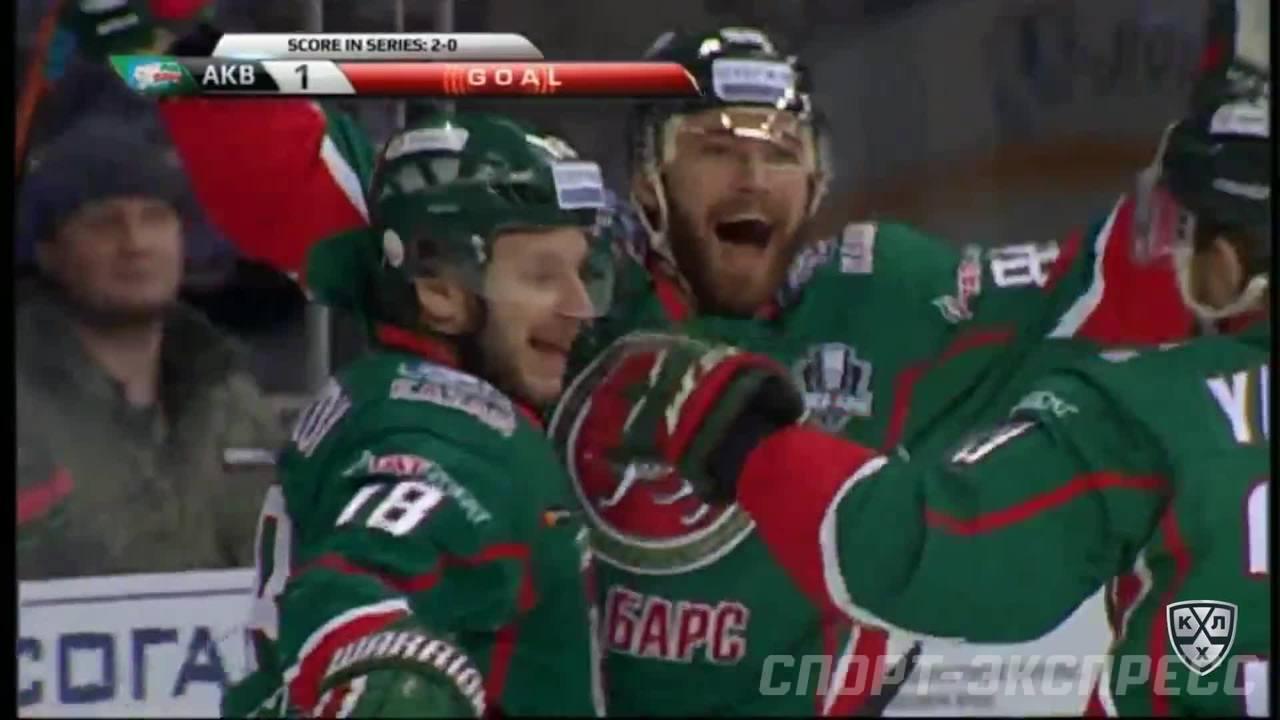 Кубок Гагарина 2017, Ак Барс - Авангард 3:4 ОТ (Серия 2-1)