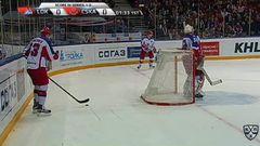 Гол. 0:1. Плэтт Джефф (ЦСКА) открывает счет матча