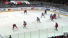 Гол. 1:1. Тальбо Максим (Локомотив) сравнивает счет матча в большинстве
