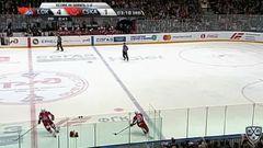 Удаление. Командный штраф (ЦСКА) на 2 минуты за нарушение численного состава
