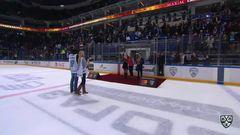 Церемония награждения победителей Бесценной лиги КХЛ Mastercard