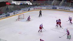 Гол. 1:2. Валерий Ничушкин (ЦСКА) сократил разрыв до минимума