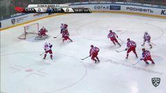 Кубок Гагарина 2017, ЦСКА - Локомотив 1:2 (Серия 2-3)