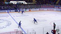 Удаление. Широков Сергей (СКА) за атаку игрока не владеющего шайбой.