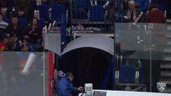 Интересный момент. Владислав Гавриков (Локомотив) второй раз за матч даёт интервью