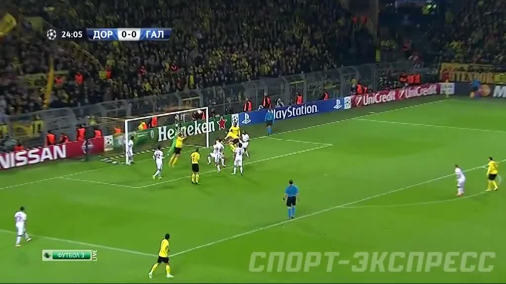 Футбол лига чемпионов галатасарай боруссия
