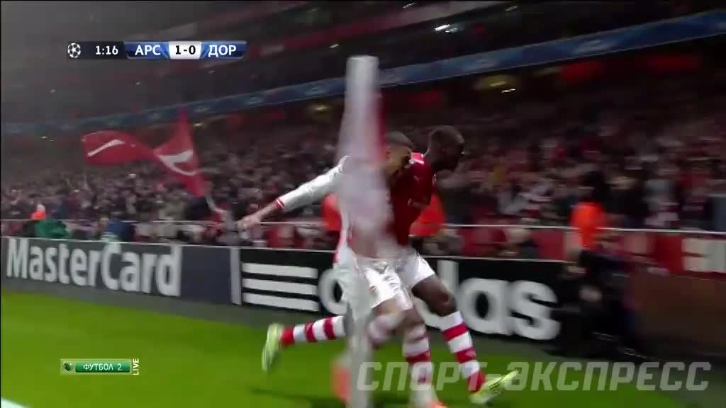 Арсенал боруссия дортмунд голы