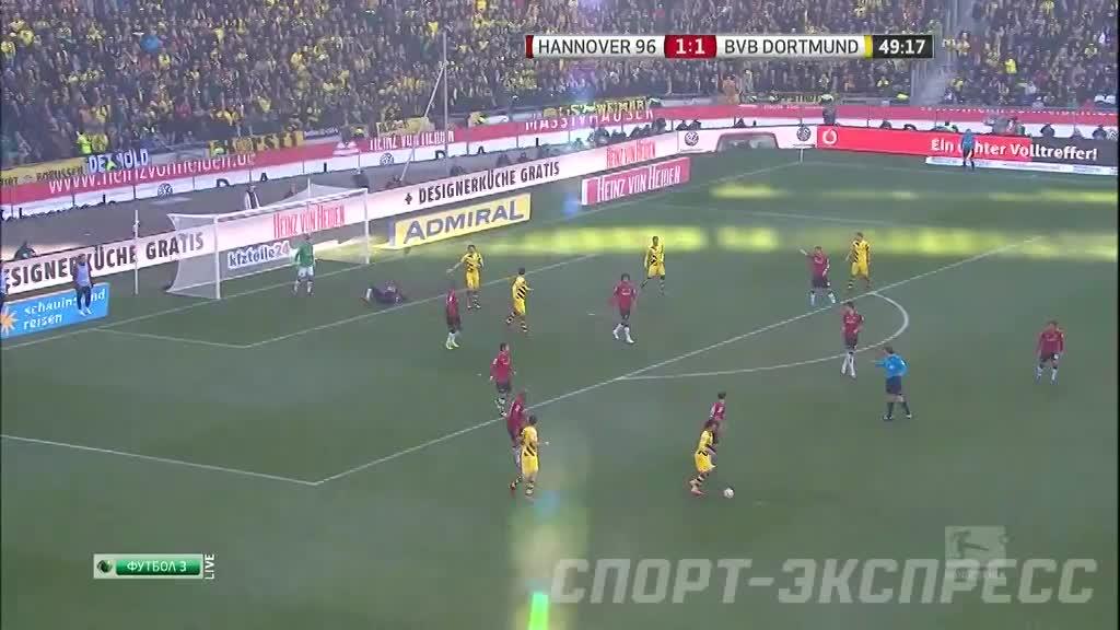 Футбол ганновер 96 боруссия д