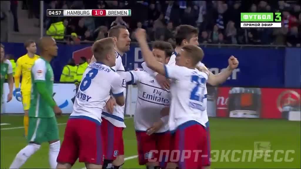 Гамбург- вердер футбол